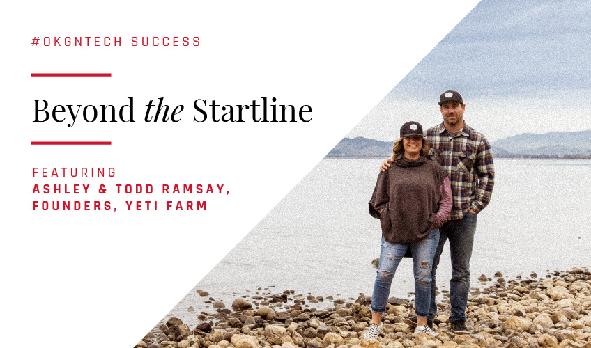 BEYOND THE STARTLINE with Ashley & Todd Ramsay, Founders of Yeti Farm Featured Image