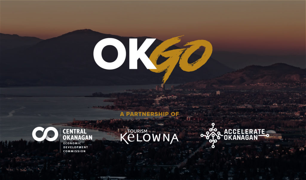 UNIQUE COLLABORATION TO MARKET CENTRAL OKANAGAN – COEDC, TOURISM KELOWNA AND ACCELERATE OKANAGAN RELEASE OKGO CAMPAIGN Featured Image